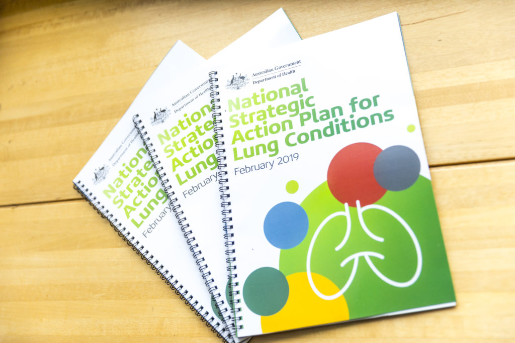 First National Strategic Action Plan for Lung Conditions endorsed by the Australian Government