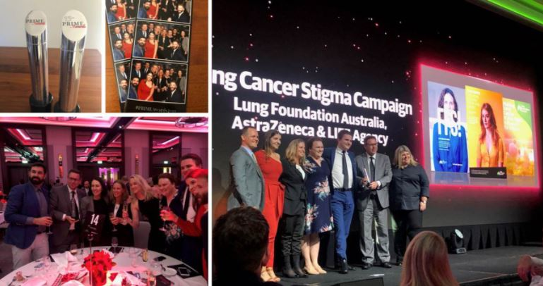 Two national 2019 PRIME Awards received for our stigma campaigns